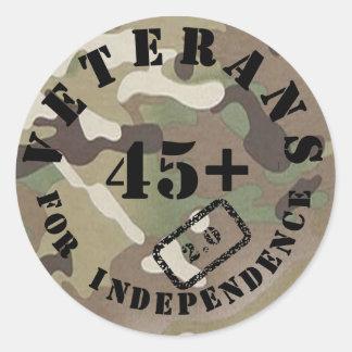Veteranen voor Onafhankelijkheid 2.0 Stickers