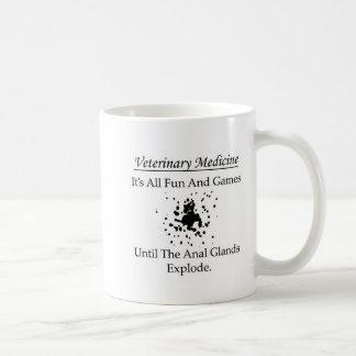 Veterinaire Geneeskunde - het is alle pret en Koffiemok