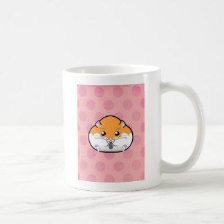 Vette Oranje Witte Syrische Hamster Koffiemok