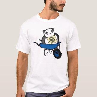 vette panda t shirt