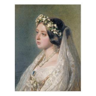 Victoria de Bruid Briefkaart
