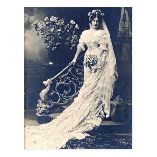 Victoriaans Bruid Briefkaart