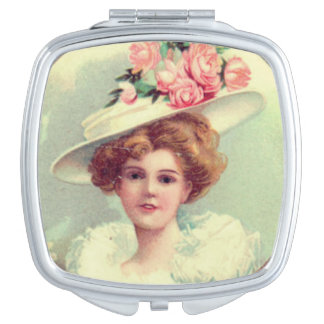 Victoriaans Dame Reisspiegeltje