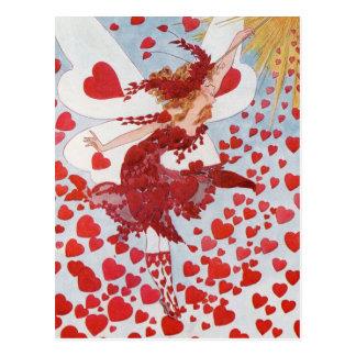 Victoriaans het hartfee van Valentijn Briefkaart