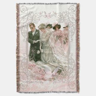 Victoriaans Huwelijk - werp Deken