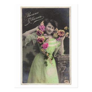 Victoriaans Vintage Briefkaart