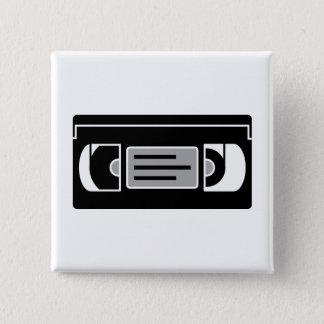 Video Band Vierkante Button 5,1 Cm