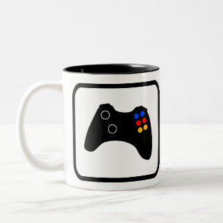 Video Gamer Pro Tweekleurige Koffiemok