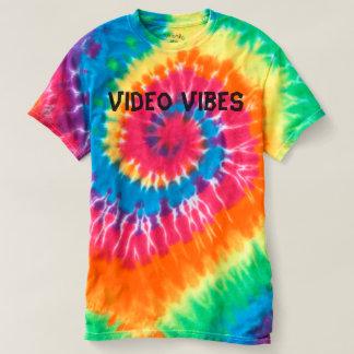 Video stropdas-Kleurstof Vibes T-shirt
