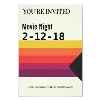 VideoBand van VHS van de jaren '80 van de Nacht Kaart