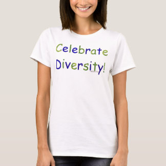 Vier Diversiteit T Shirt