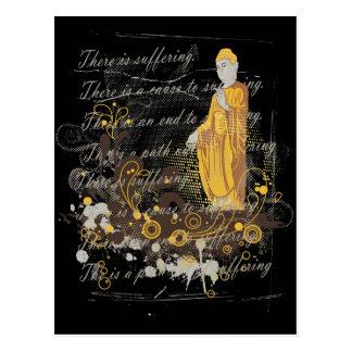 Vier Edele Truths Briefkaart