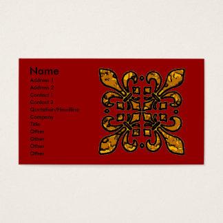 Vier Fleur DE Lis Visitekaartjes