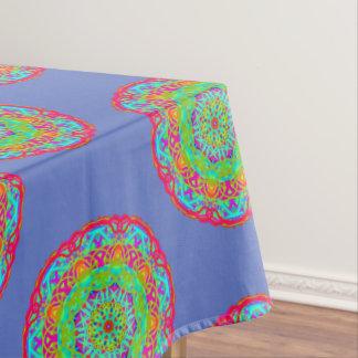 Vier Kleurrijk Tafelkleed Mandala
