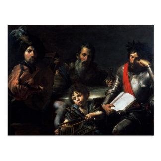 Vier Leeftijden van Man, c.1626-7 Briefkaart