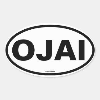 VIER Ojai Ovale Sticker