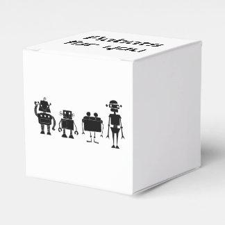 Vier Robots Bedankdoosjes