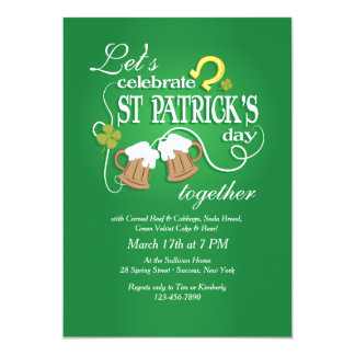 Vier St. Patrick de Uitnodiging van de Dag