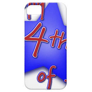 Vierde van de Viering van Juli Barely There iPhone 5 Hoesje
