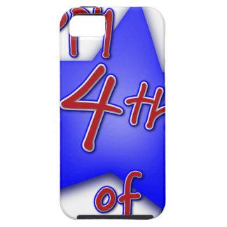 Vierde van de Viering van Juli Tough iPhone 5 Hoesje