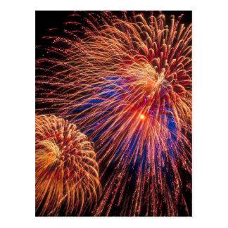 vierde van het Vuurwerk van Juli Briefkaart