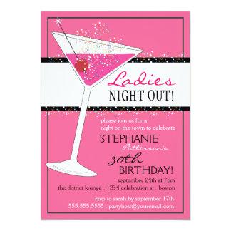 Viering van de Verjaardag van Martini van de Nacht Kaart