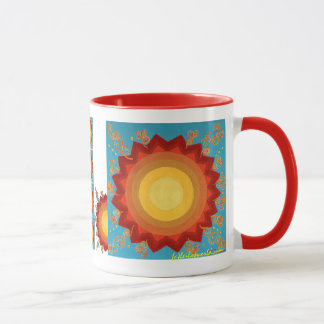 Viering van de zon-Ceramische, Globale Mok van de