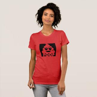 Vierkant Achterschip Emoji T Shirt