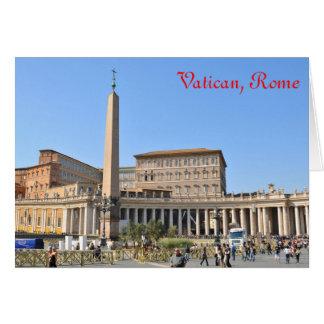 Vierkant in Rome, Italië Briefkaarten 0