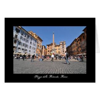 Vierkant in Rome, Italië Kaart