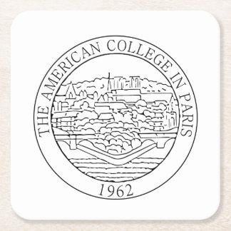 Vierkant Onderzetter met het logo van ACS
