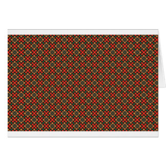 Vierkant patroon briefkaarten 0