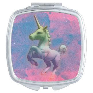 Vierkant van de Spiegel van de eenhoorn het Make-up Spiegels