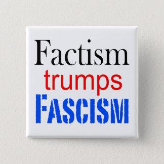 Vierkante factismknoop vierkante button 5,1 cm