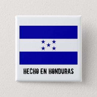 Vierkante knoop van Honduras van Hecho de Engelse Vierkante Button 5,1 Cm