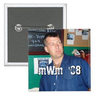 Vierkante Knoop Vierkante Button 5,1 Cm