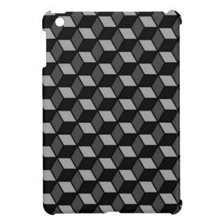 vierkante optische illusie iPad mini cases