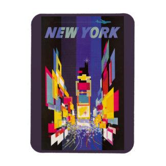 Vierkante 's nachts abstract van New York Times Rechthoek Magneet