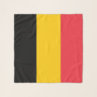 Vierkante Sjaal met vlag van België