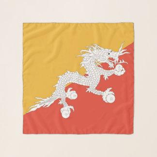 Vierkante Sjaal met vlag van Bhutan