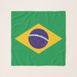 Vierkante Sjaal met vlag van Brazilië