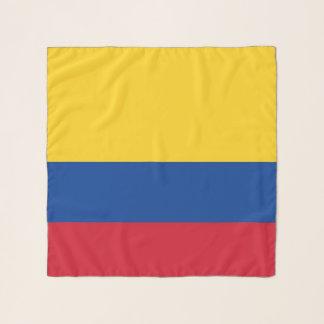 Vierkante Sjaal met vlag van Colombia