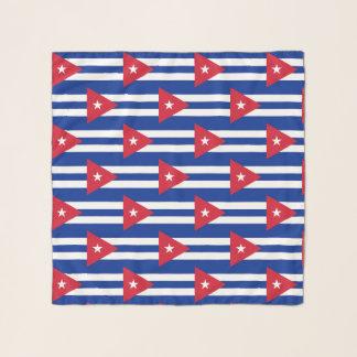 Vierkante Sjaal met vlag van Cuba