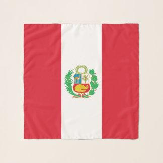 Vierkante Sjaal met vlag van Peru