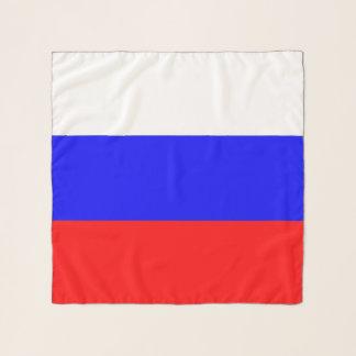 Vierkante Sjaal met vlag van Rusland