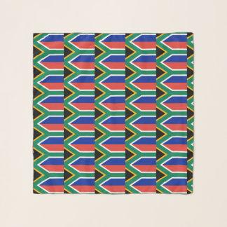 Vierkante Sjaal met vlag van Zuid-Afrika