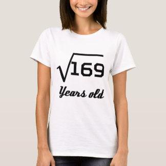 Vierkantswortel van Oude 169 13 Jaar T Shirt