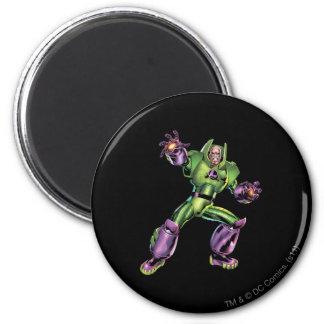 Vijand 1 van de superman ronde magneet 5,7 cm