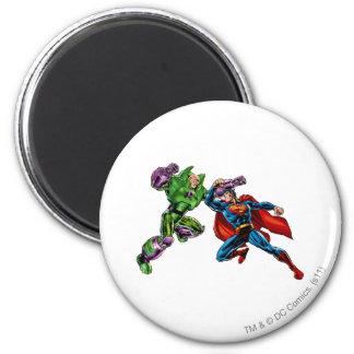 Vijand 2 van de superman ronde magneet 5,7 cm