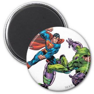 Vijand 3 van de superman ronde magneet 5,7 cm
